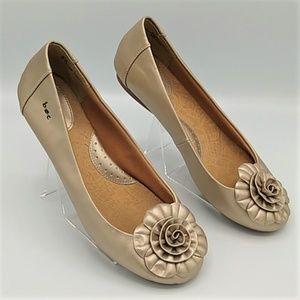 BOC Born Concepts Gold Ballet Flats  sz 8